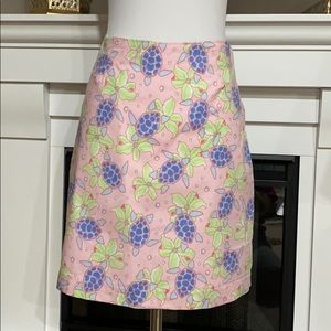 Vineyard Vines Margo Skirt Turtle/Floral Print
